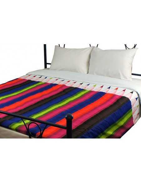 Двуспальное постельное белье Руно Pencils, 70х70 (2шт) см