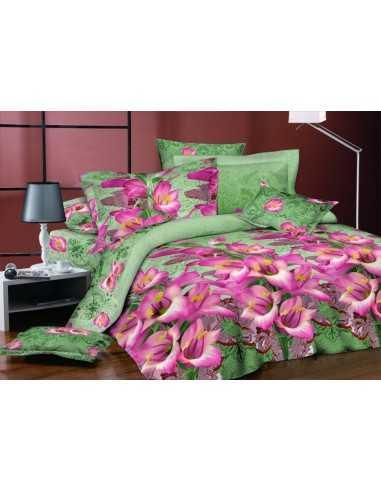 Полуторное постельное белье Руно S-1414 А+В, 50х70 (2шт) см