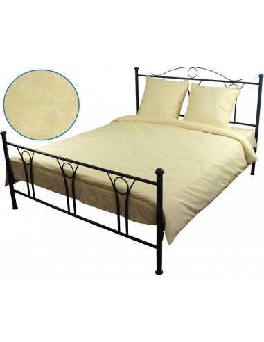 Двуспальное постельное белье Руно Молочное, 50х70 (2шт) см