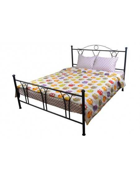 Полуторное постельное белье Руно Совы, 70х70 (2шт) см