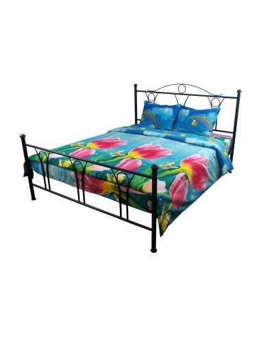 Семейное постельное белье Руно Тюльпаны, 50х70 (2шт) см