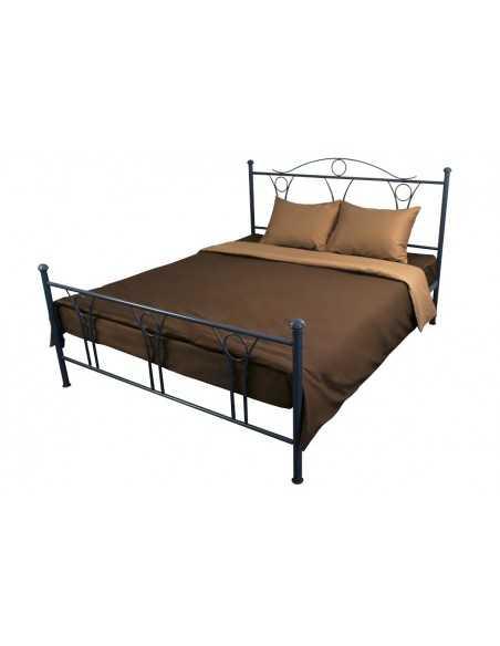Двуспальное постельное белье Руно Шоколадное, 70х70 (2шт) см
