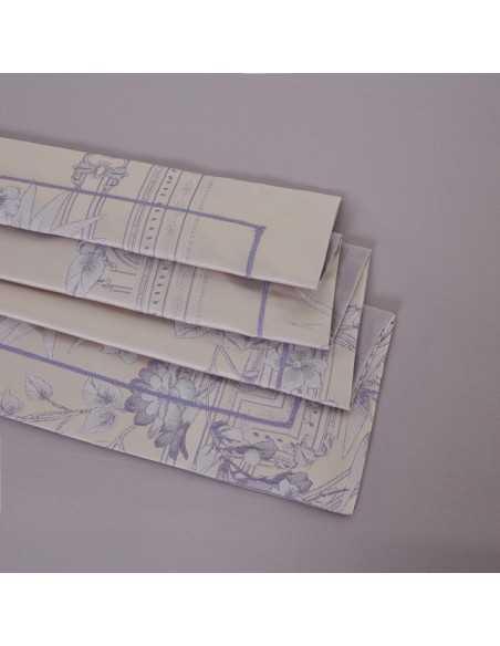 Постельное белье евро Arya Leah Бамбук