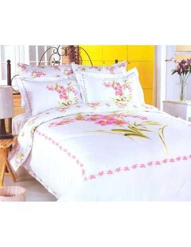 Полуторное постельное белье Le Vele Buket White