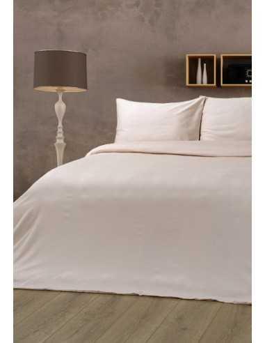 Полуторное постельное белье Lotus Отель Классик Бежевый