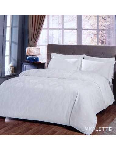 Постільна білизна євро Tac Violette білий