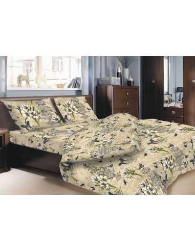 Двуспальное постельное белье Zastelli 107 Gold USA