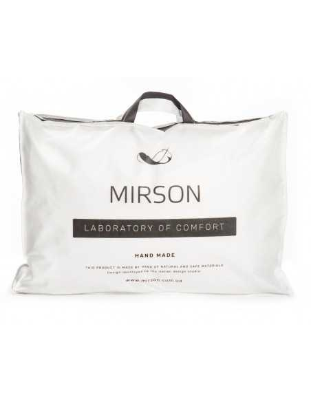 Подушка Mirson DeLuxe Memory 1492, 70х70 см, высокая