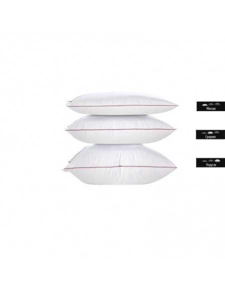 Подушка MirSon Deluxe Natural Hand Made, 60х60 см, низкая