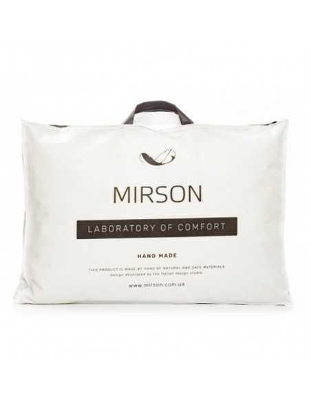 Подушка MirSon Deluxe Natural Hand Made, 50х70 см, средняя