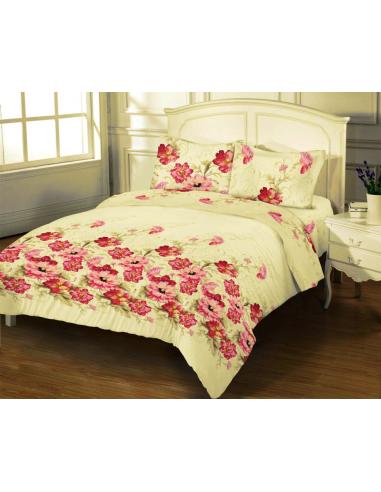 Двуспальное постельное белье Zastelli 9322 Gold USA