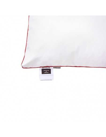 Подушка MirSon Deluxe Natural Hand Made, 70х70 см, высокая