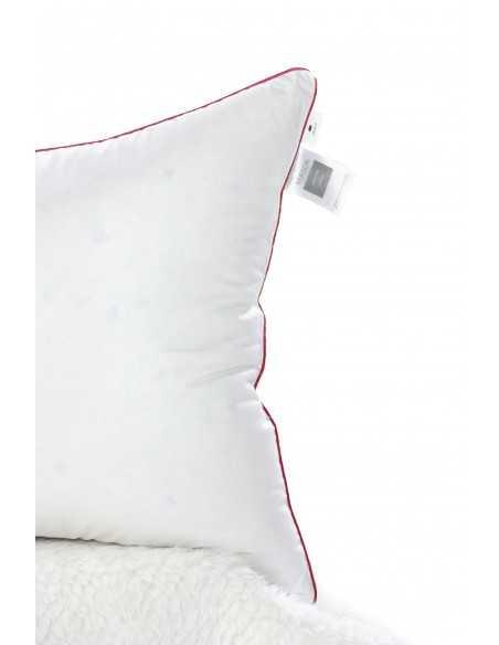 Подушка MirSon DeLuxe Пух, 40х60 см, 550 г