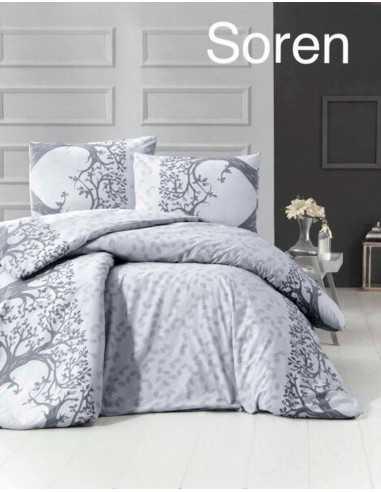 Двуспальное постельное белье Altinbasak Soren