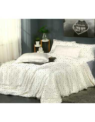 Двуспальное постельное белье Zastelli 235 Разные звезды