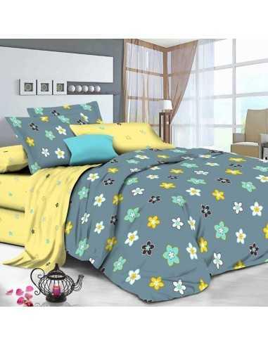 Двуспальное постельное белье Руно 4150(A+B)