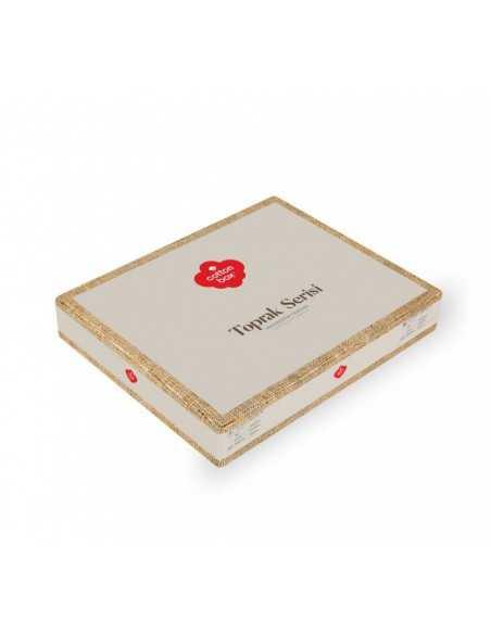 Постельное белье евро Cotton Box Toprak Rina