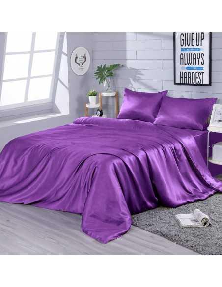 Постельное белье евро Zastelli Dark Lilac