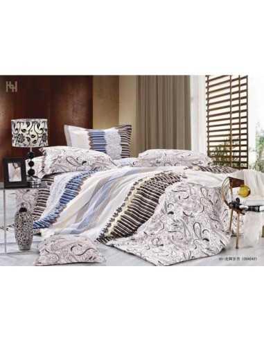 Полуторное постельное белье Руно Завиток, наволочка 50х70 см