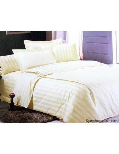 Полуторное постельное белье Le Vele Symphony Cream