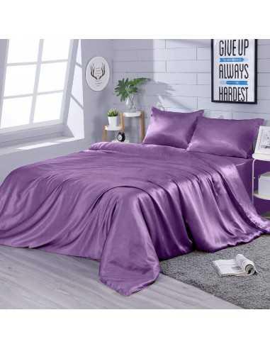 Полуторное постельное белье Zastelli Light lilac, наволочка 50х70 см