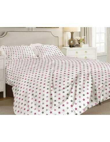 Полуторное постельное белье Zastelli 60 Разные звезды