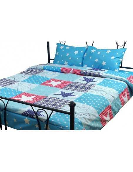 Полуторное постельное белье Руно Звезда Остра, 50х70 (2 шт.) см
