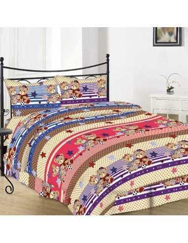 Полуторное постельное белье Руно 10-0501 brown