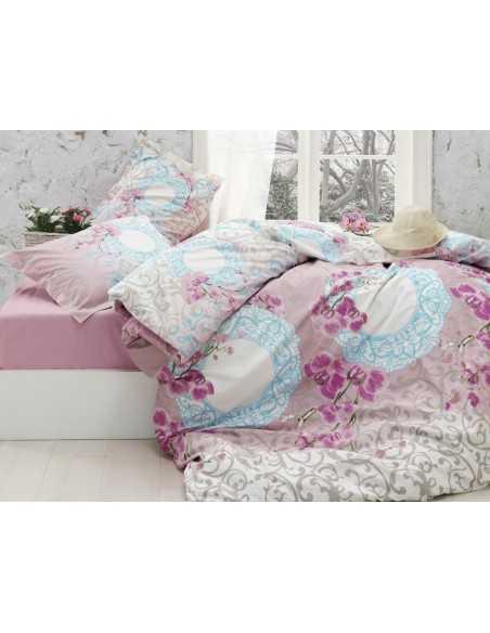 Семейное постельное белье Cotton Box Gokay Fresa