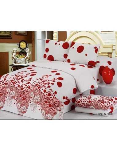 Семейное постельное белье Le Vele Daily Bonita Red