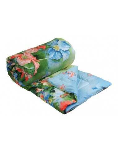 Одеяло Руно Summer Flowers Комфорт, двуспальное