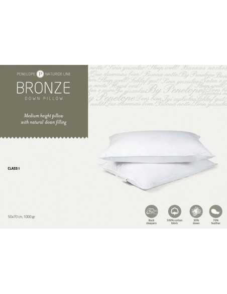 Подушка Penelope Bronze, 70х70 см