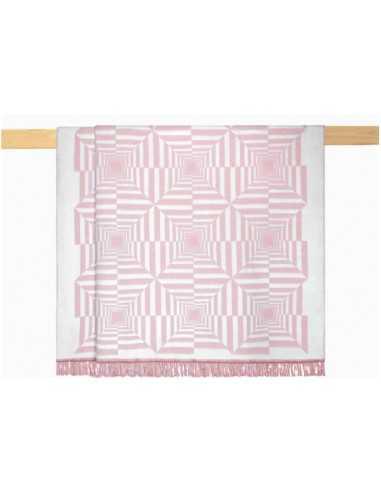Плед Arya Nyla рожевий, 200х220см