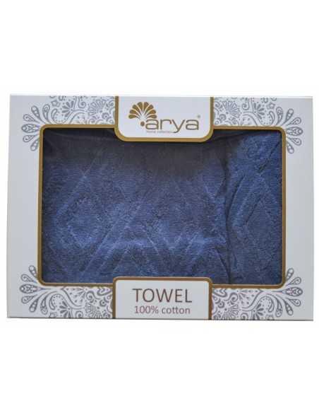 Набор полотенец Arya Duma 50х90-70х140 см, голубой