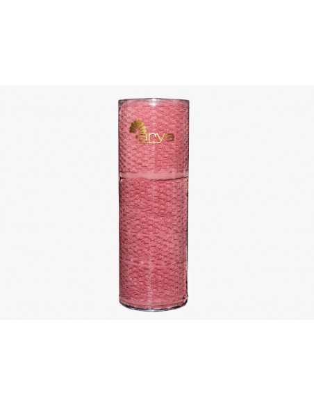 Набір рушників в тубі Arya Arno 30х50-50х90 см, рожевий