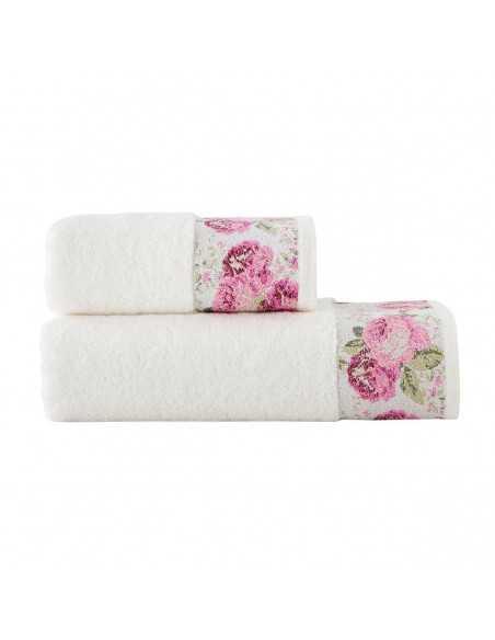 Набор полотенец Arya Desima 50х90-70х140 см, розовый