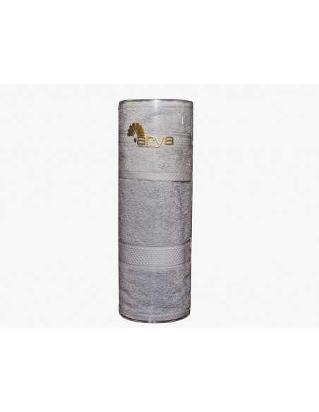 Набір рушників в тубі Arya Miranda Soft 30х50-50х90 см, экрю
