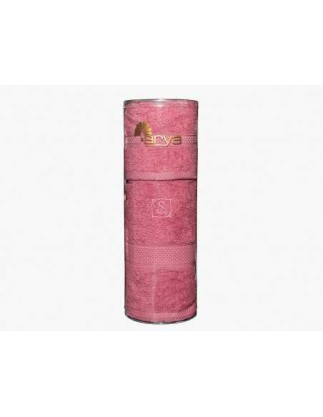 Набор полотенец в тубе Arya Miranda Soft 30х50-50х90 см, экрю