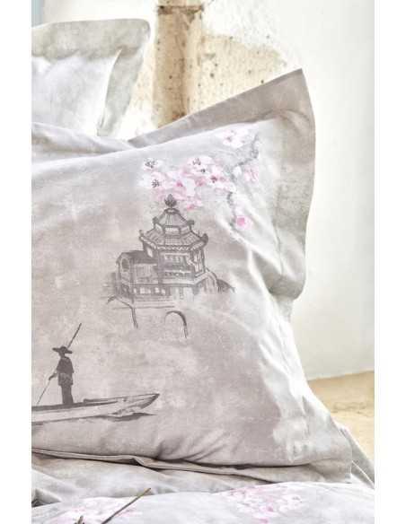 Постельное белье Karaca Home Akina Gri