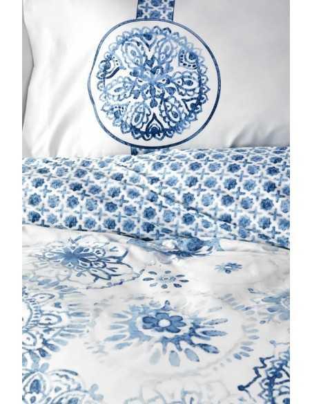 Постельное белье Karaca Home Felinda Mavi