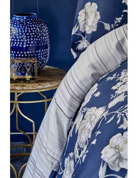 Постельное белье Karaca Home Elvira Lacivert, 4 наволочки