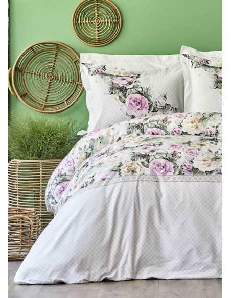 Постельное белье Karaca Home Elsa Pembe 2020-1, размер простыни 260х270 см