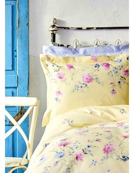 Постельное белье Karaca Home Lupines Sari 2020-1