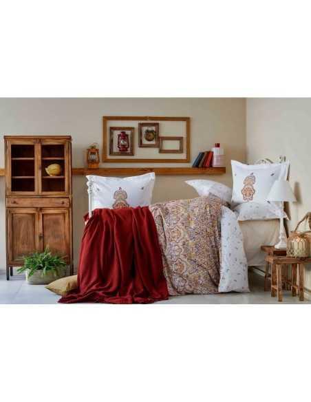 Постельное белье Karaca Home Paula Kiremit 2019-2