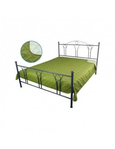 Покрывало Руно Лилия Зеленое, 150х212 см