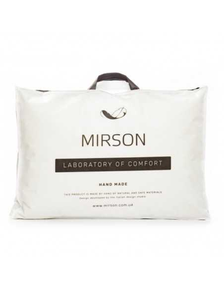 Подушка MirSon DeLuxe Hand Made Tencel, 60х60 см, средняя