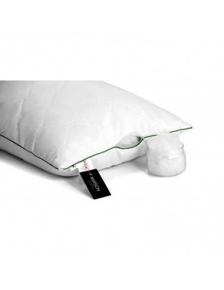 Подушка MirSon Eco Line с Эвкалиптом, 40х60 см, высокая