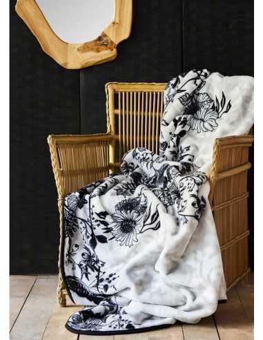 Плед Karaca Home Arden Siyah 2020-1, 200х240 см