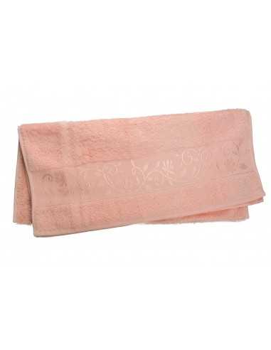 Полотенце Hanibaba 70x140 см, розовый