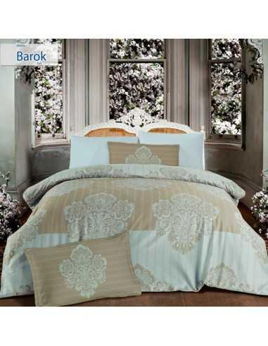 Семейное постельное белье Altinbasak Barok Cream